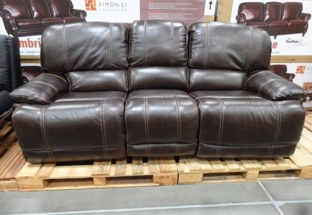 Costco Leather Reclining Sofa In Store Fresh Everyday Design