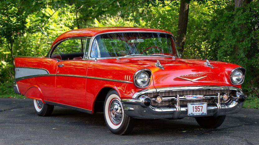 1957 Chevrolet Bel Air | F118 | Chicago 2018 | Mecum Auctions