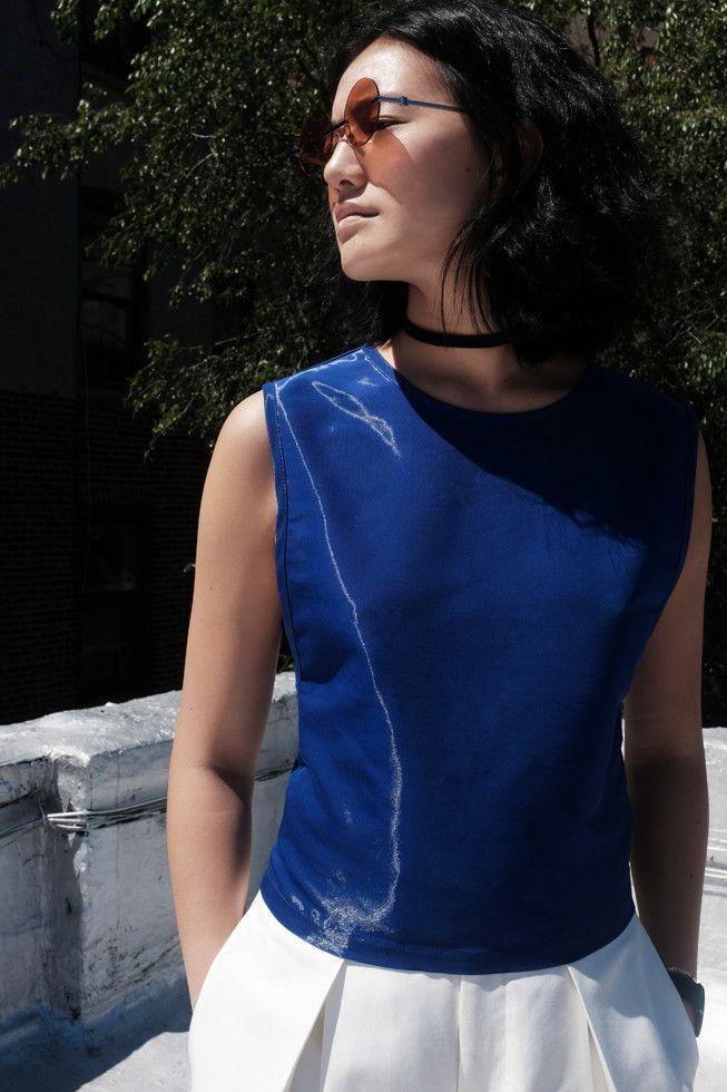 Electric Blue Vest