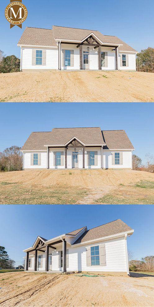 David French Floor Plan South Louisiana Home Builder Barn House Plans Louisiana Homes Home Builders