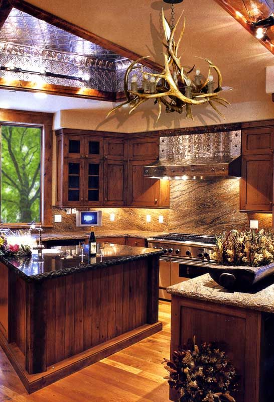 design inspiration of interiorroomand kitchen  arts and crafts kitchen ideas my tastes for my dream kitchen change hourly but i love the cabin      rh   pinterest com