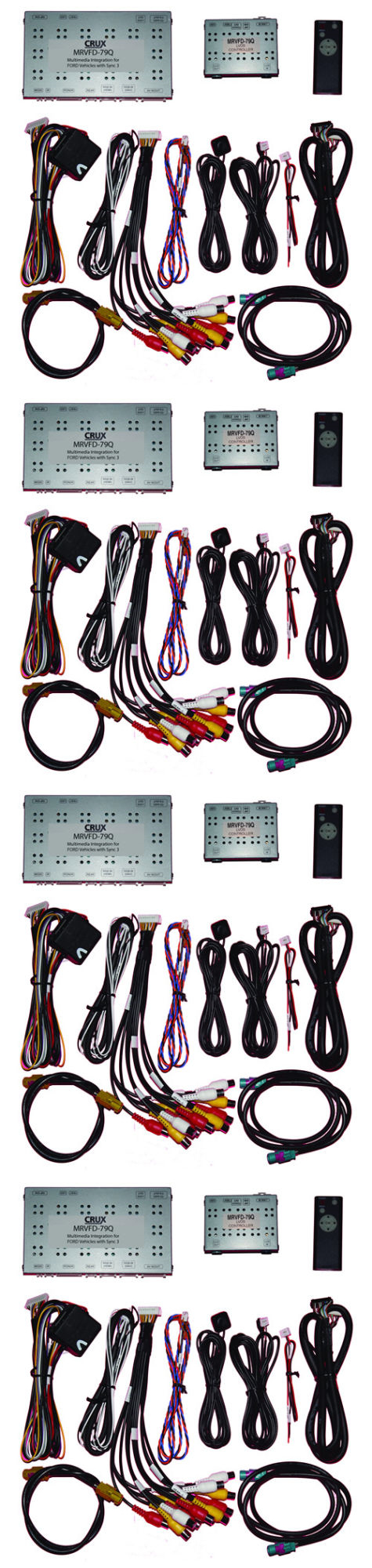 Wire Harnesses: Crux Multimedia And Rear View Integration For Select ...