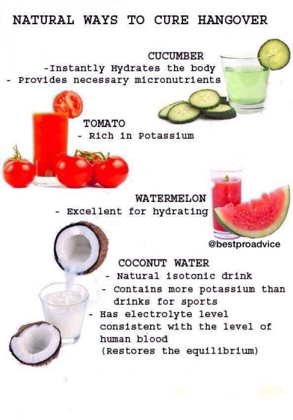 Natural Ways To Get Rid Of A Hangover Headache