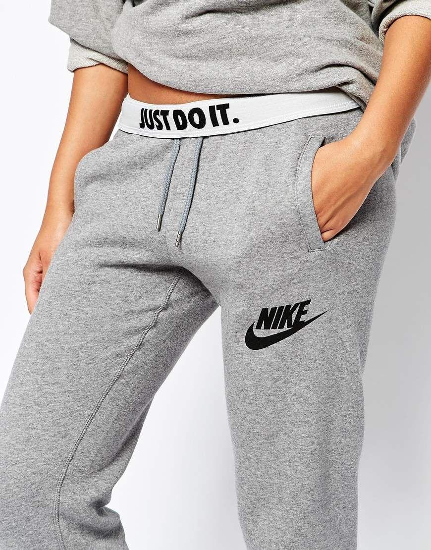 Nike Rally Baggy Sweat Pants With Logo