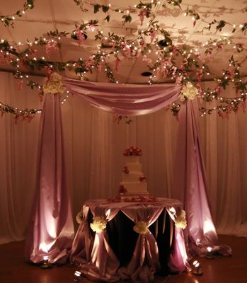 Cake Table with Cake Canopy. Wedding ... & Cake Table with Cake Canopy | Wedding | Cake Tables | Pinterest ...