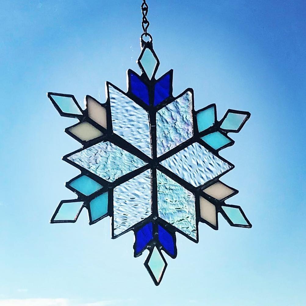 Amysglassboutique on instagram snowflakes