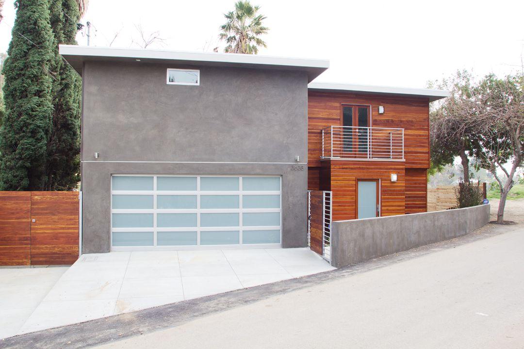 Modern design home...loving the garage!