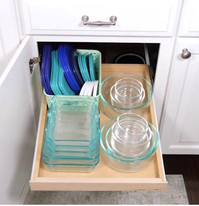 day twenty one komono part four of nine kitchen tupperware storage in 2019 tupperware on kitchen organization tupperware id=17067