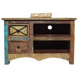 RUSTICA reclaimed timber TV unit - Small