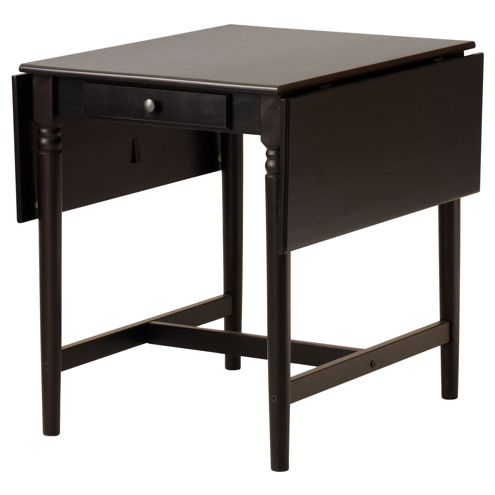 Ikea Tisch Schwarzbraun 129 00 Ingatorp Drop Leaf Table Ikea Here Is Another Table