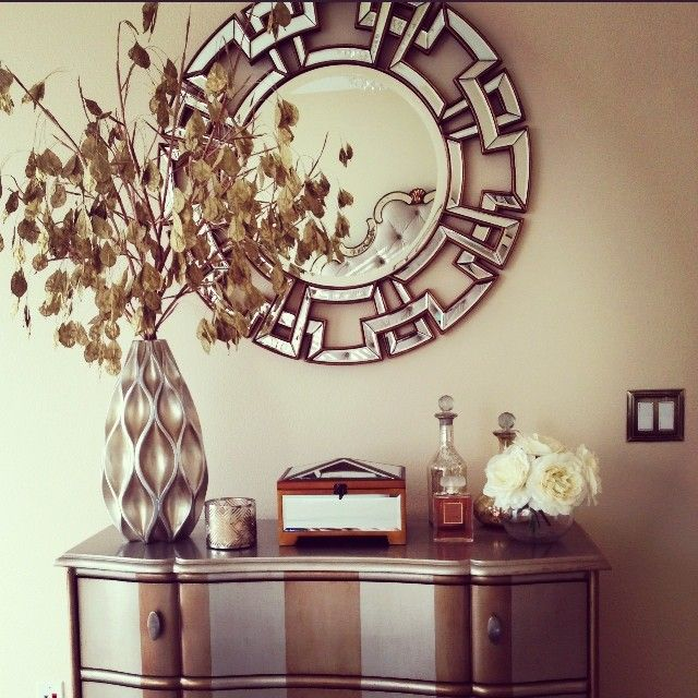 Our Pierre Mirror Amp Sequence Vase Are Perfect Complements