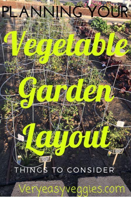 Planning Your Garden Layout – Garden layout vegetable