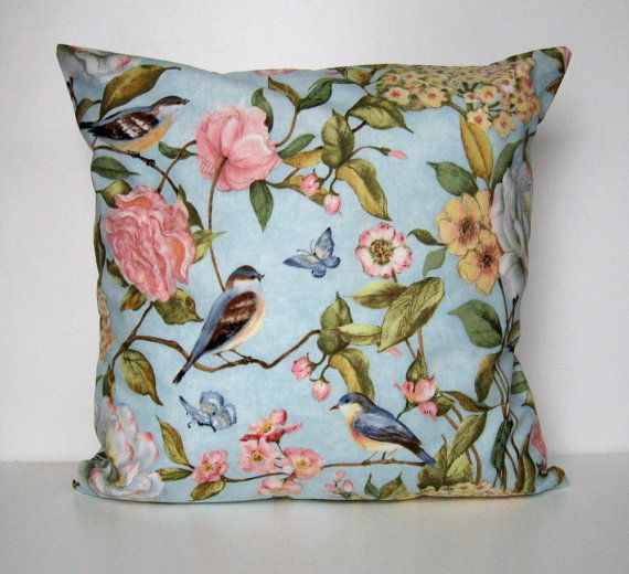 Spring Pillow Cover Floral Pillow Cover Throw Pillow Flowers