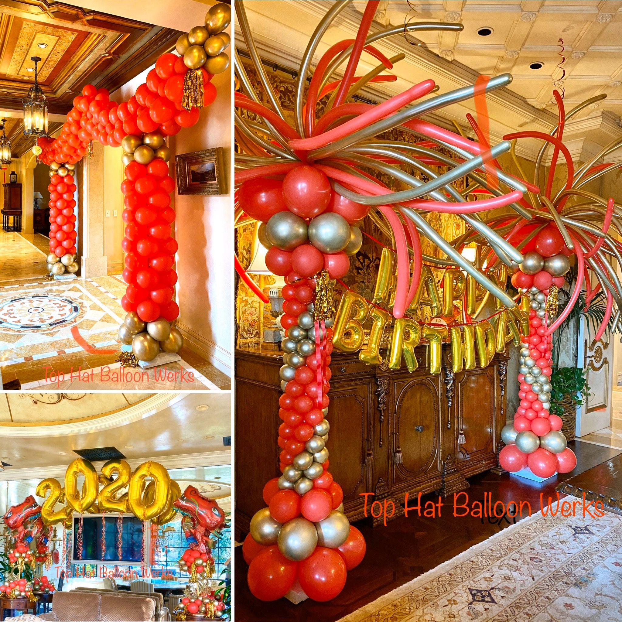 Chinese New Year 2020 in 2020 Balloon arch, Balloon