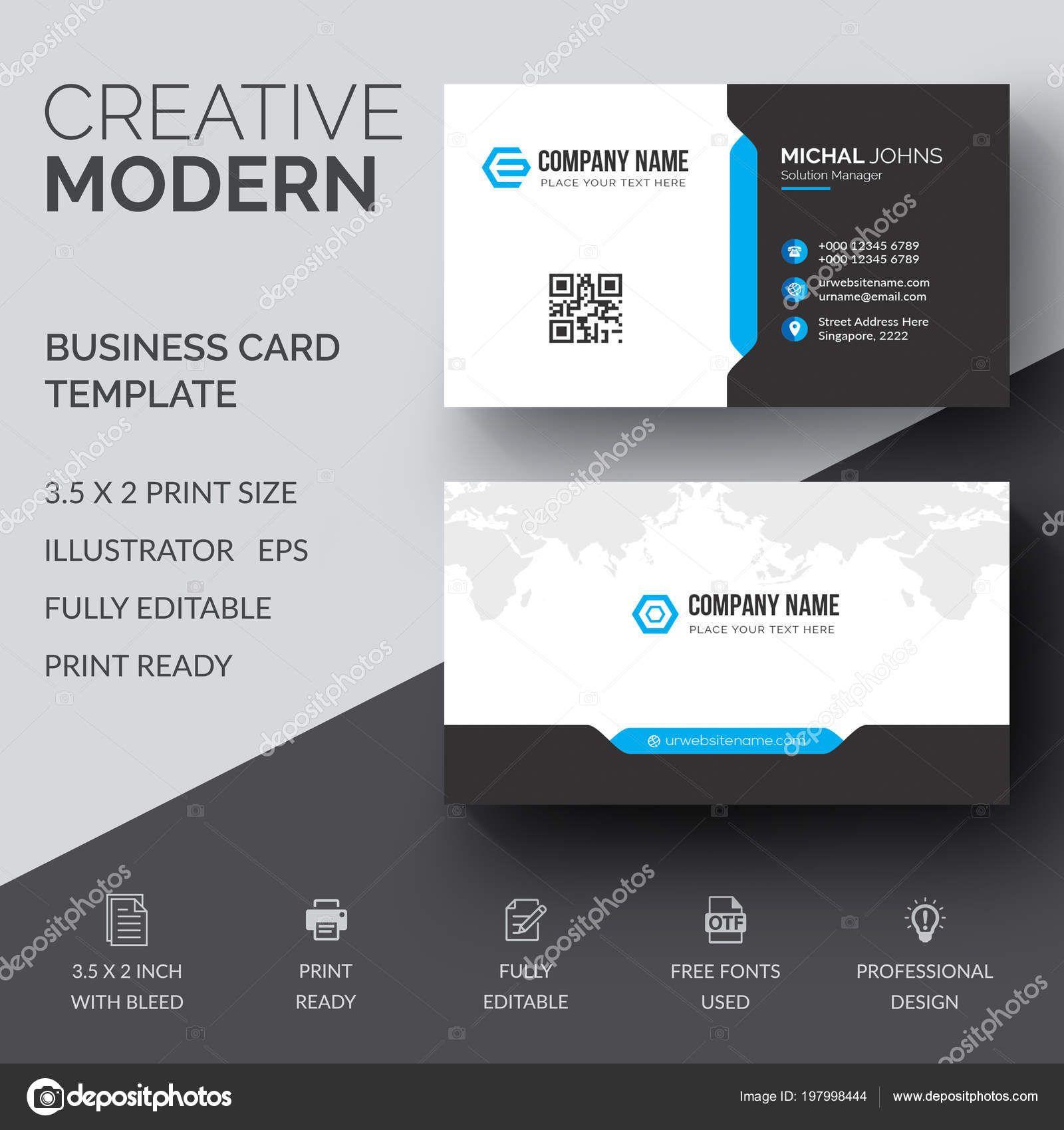 Download Vector Design Modern Creative Clean Business Card
