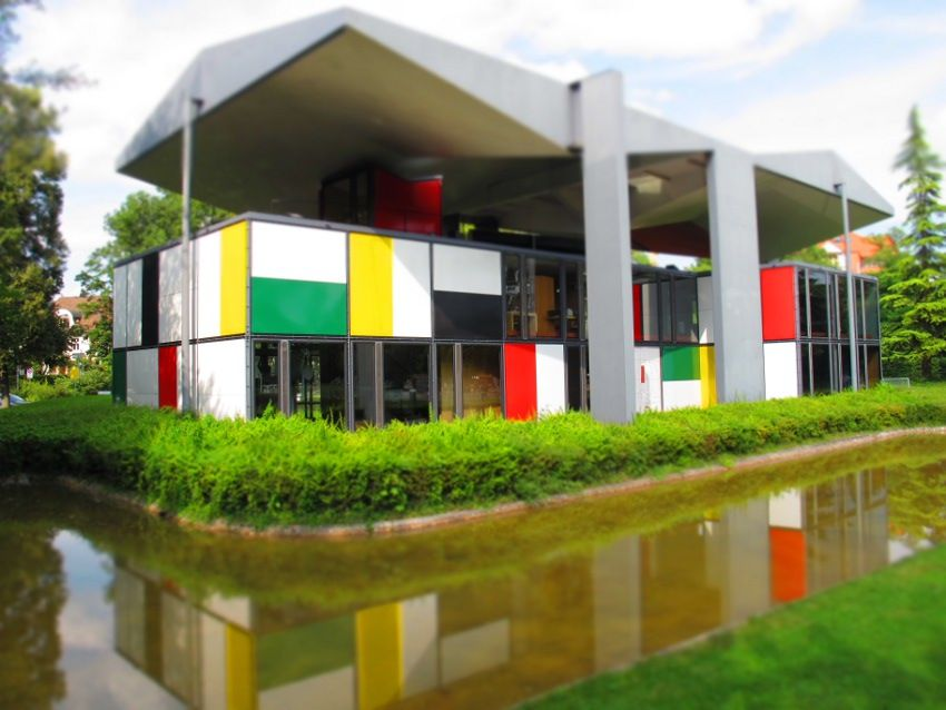 Cool Architecture Design Art le corbusier ~ colored architecture. #architecture #city #art