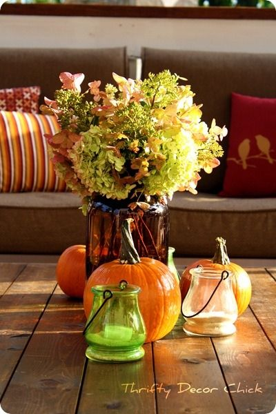 Fun #Fall Table Decorations