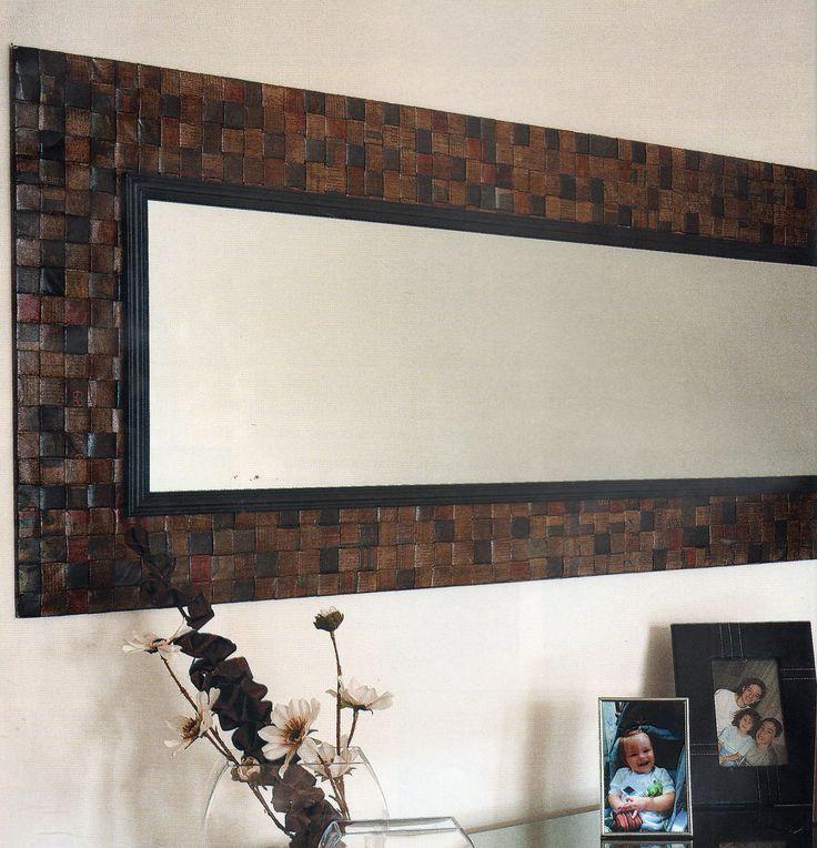 espejos marco de madera para comedor buscar con google