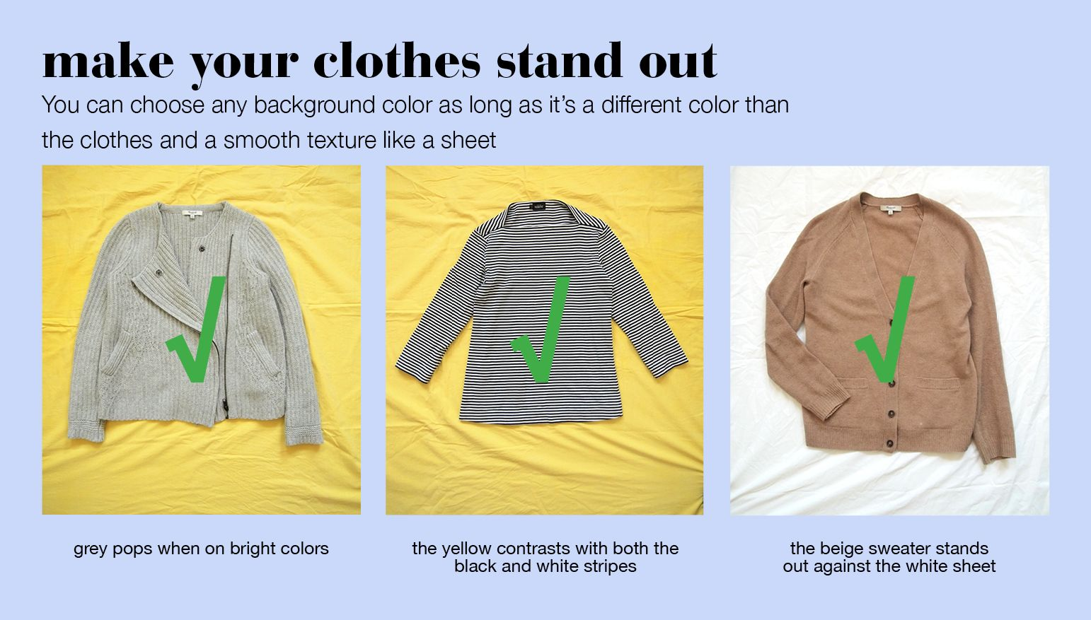 Choosing A Good Background Color For Closet Photos Genius Clothing Photographer Outfit Selling Clothes Online