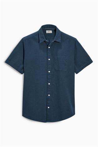Buy Short Sleeve Seersucker Shirt online today at Next: Israel