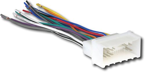 Metra - TurboWire Wire Multiharness for Select Vehicles - Multicolor, 70-7004