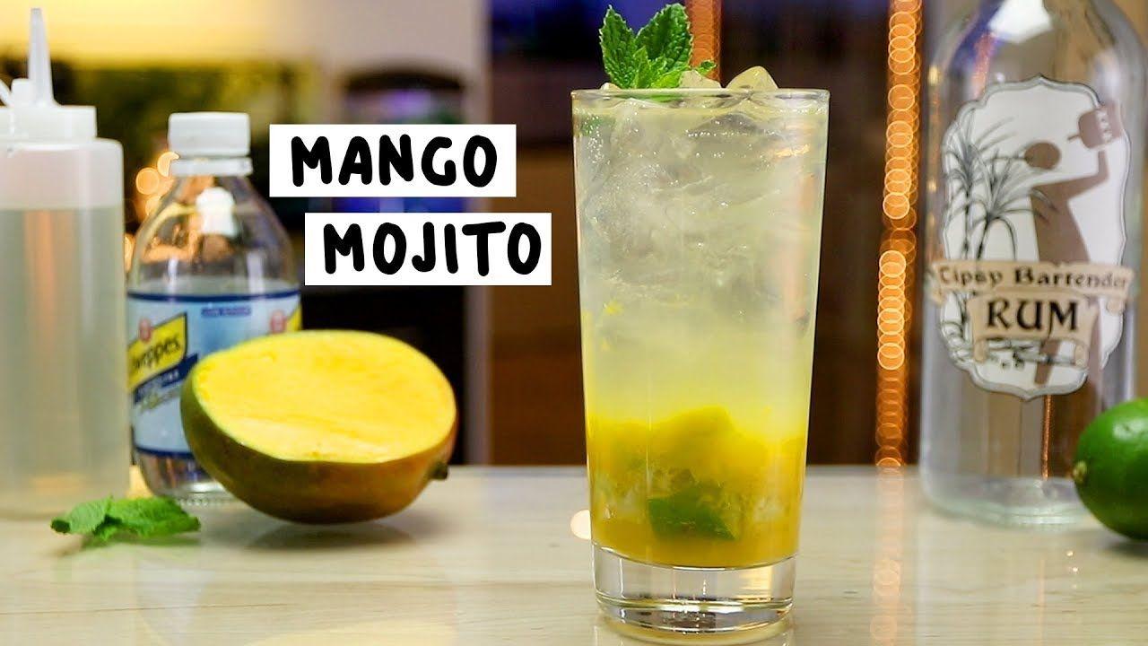 Mango Mojito Tipsy Bartender Recipe Mango Mojito Alcohol Drink Recipes Mojito Recipe Classic