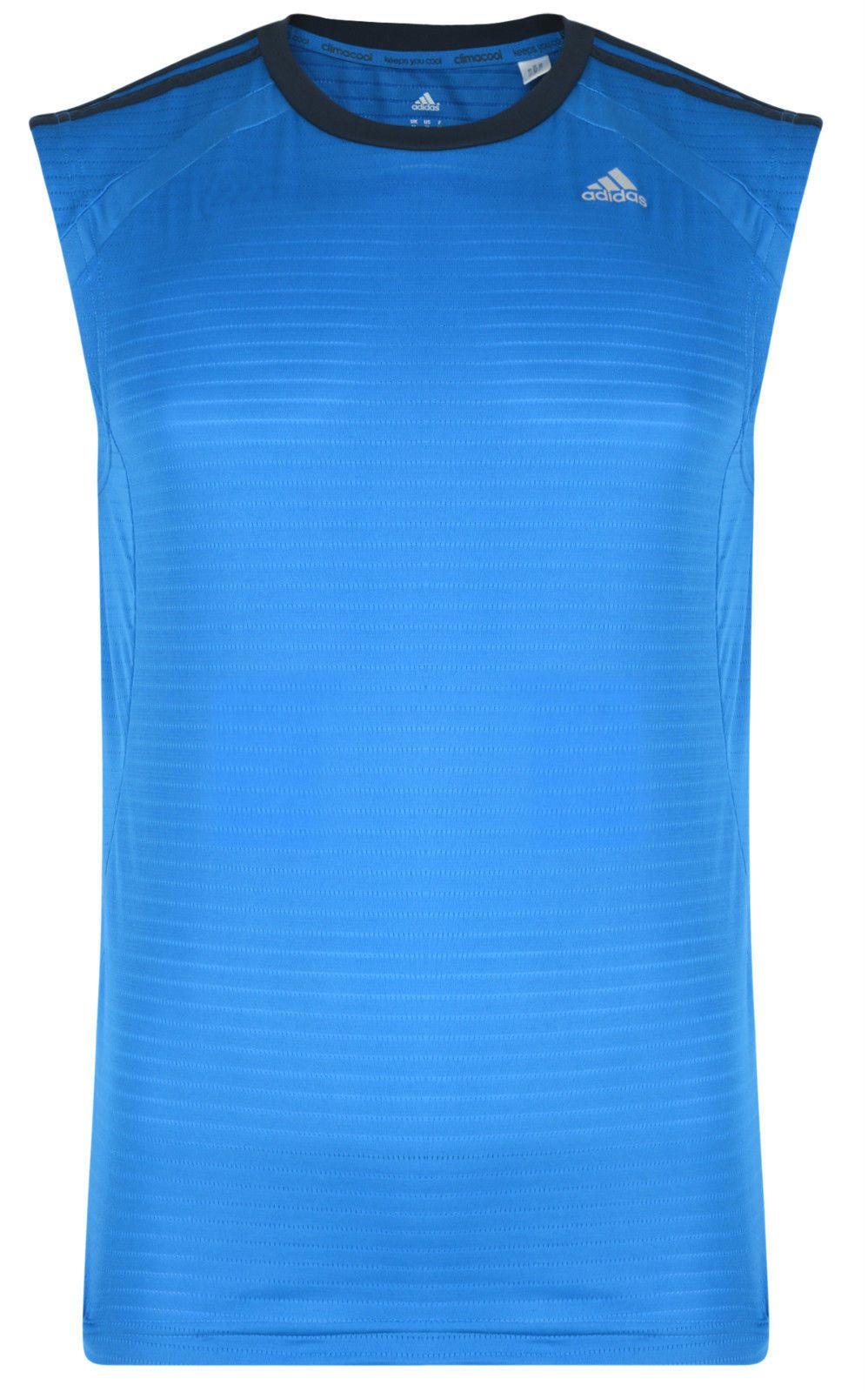 Climacool Shirt Adidas New Mens Top Running Vest T Sleeveless 8BEPSwqPv