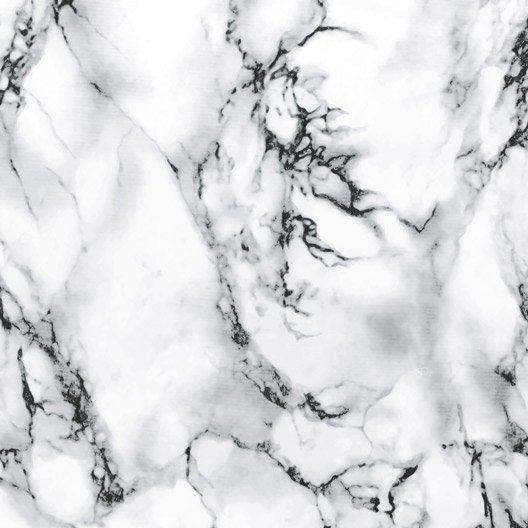 Revetement Adhesif Marbre Blanc 0 45 X 2 M Marbre Blanc Papier Peint En Marbre Fond D Ecran Marbre