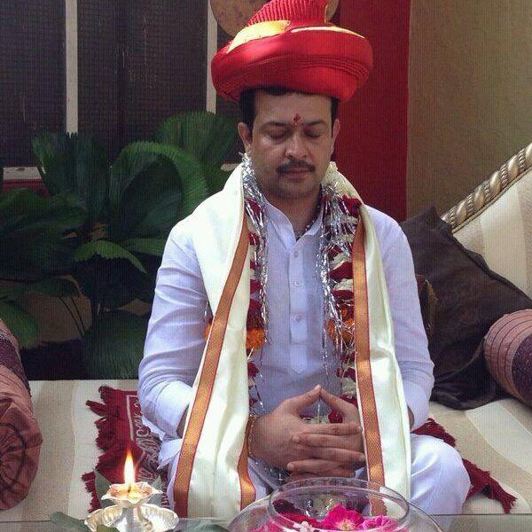 Image result for भय्यूजी महाराज