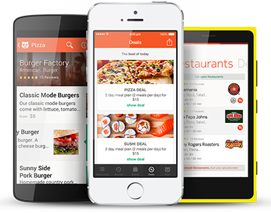 Uber Eats, Zomato and Food Panda Clone Food delivery app