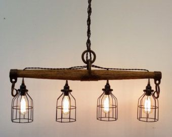 Image Result For Diy Rustic Chandelier Vintage Kitchen