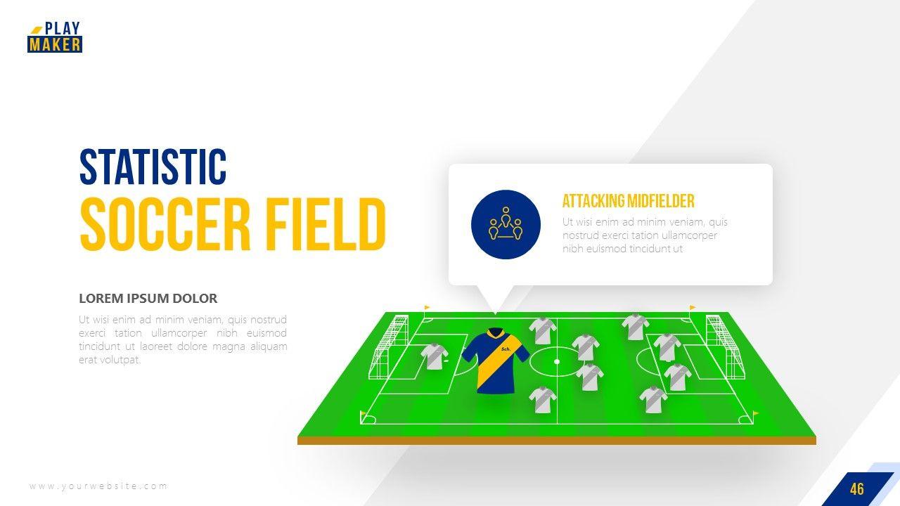 Playmaker Football Powerpoint Template Football Playmaker