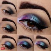 Photo of 21 tutoriales de maquillaje colorido para mujeres – peinado 2019 21 maquillaje colorido tut …