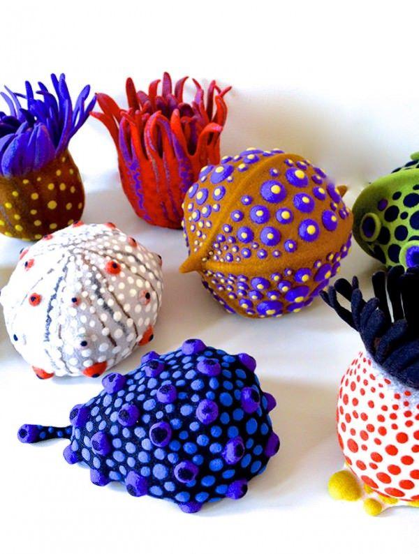 Amazing Felt Creations by Atsuko Sasaki | Gift Ideas | Creative Spotting #feltcreations