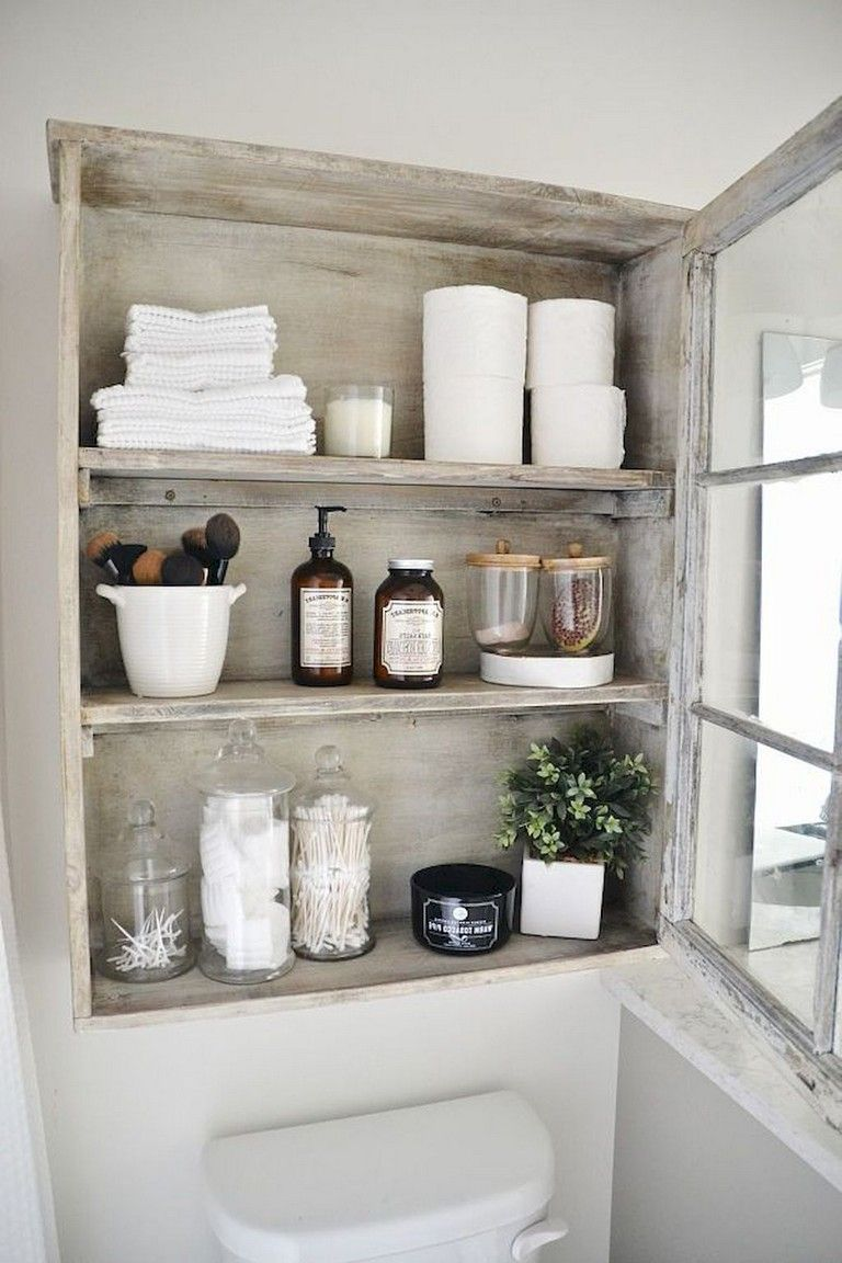 Badezimmer ideen mitte des jahrhunderts modern  diy rustic bathroom levitating shelves ideas  diy u crafts