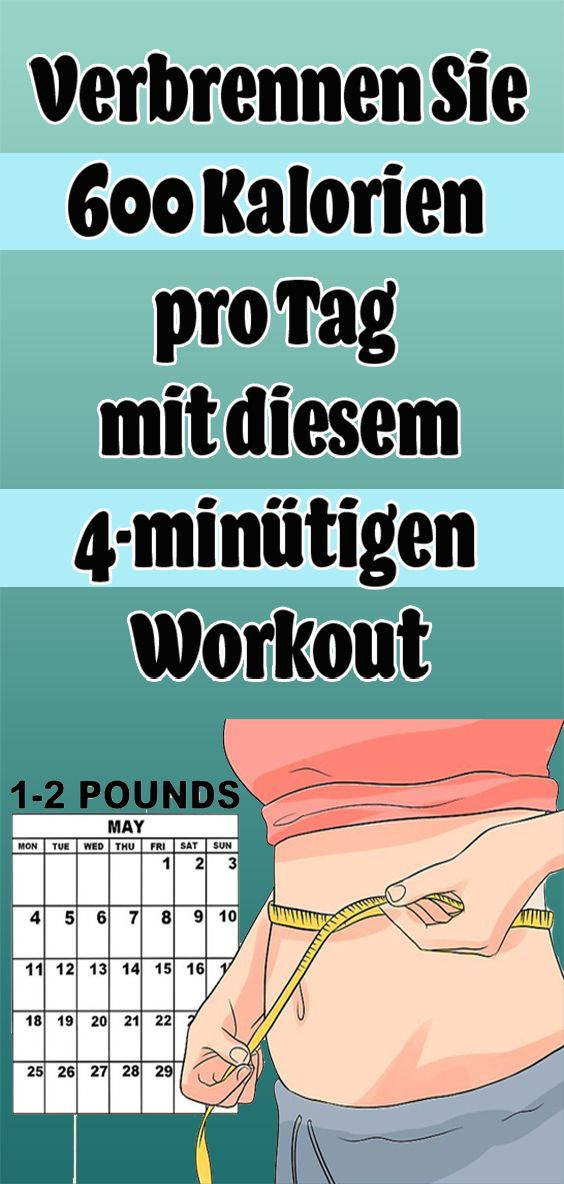 Photo of Verbrenne mit diesem 4-minütigen Training 600 Kalorien pro Tag
