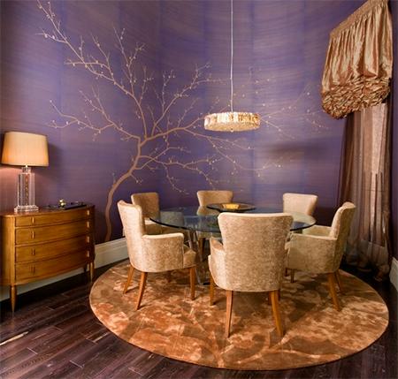 PANTONE AMETHYST ORCHID | Distressed wood floors, Gold interior ...
