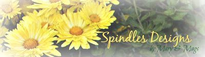 Spindles Designs by Mary & Mags: Gluten-Free Banana Muffins