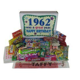 50th Birthday Gift Basket Box
