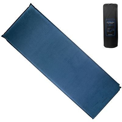 Base Camp Mattress Arpenaz 300 Self Inflating Camping Sleeping Mat Blue