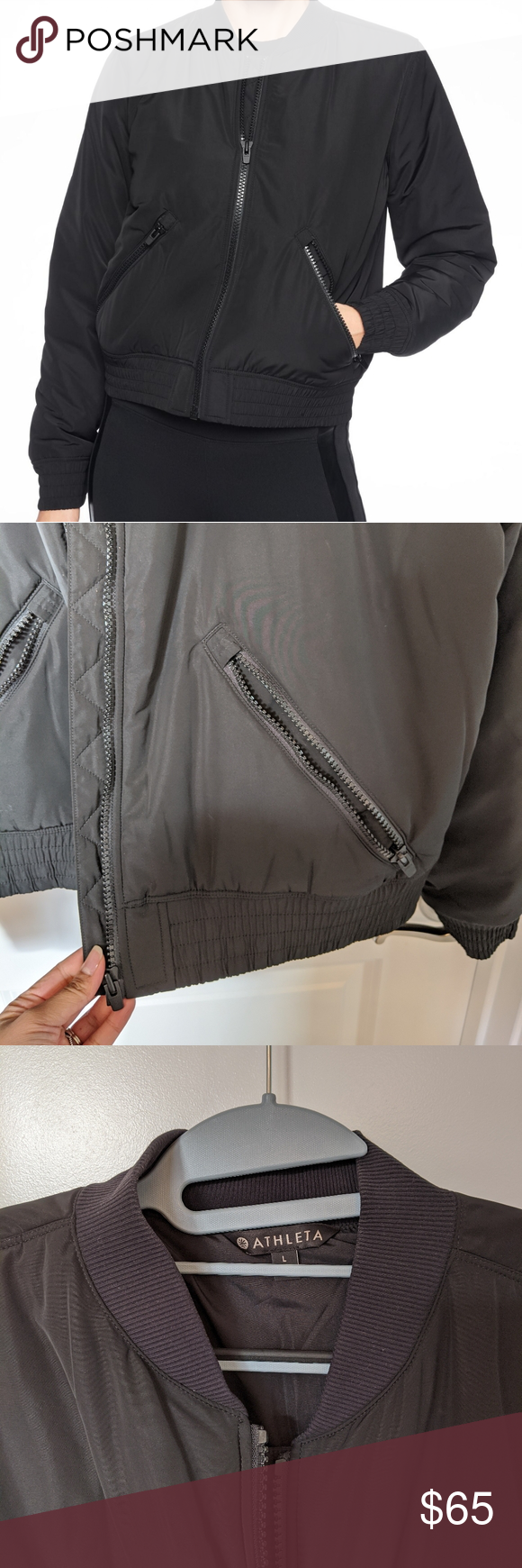 Athleta Bomber Jacket Clothes Design Fashion Bomber Jacket [ 1740 x 580 Pixel ]
