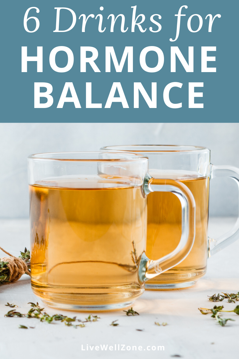 Photo of 6 Drinks to Balance Hormones Naturally (+ Recipes)