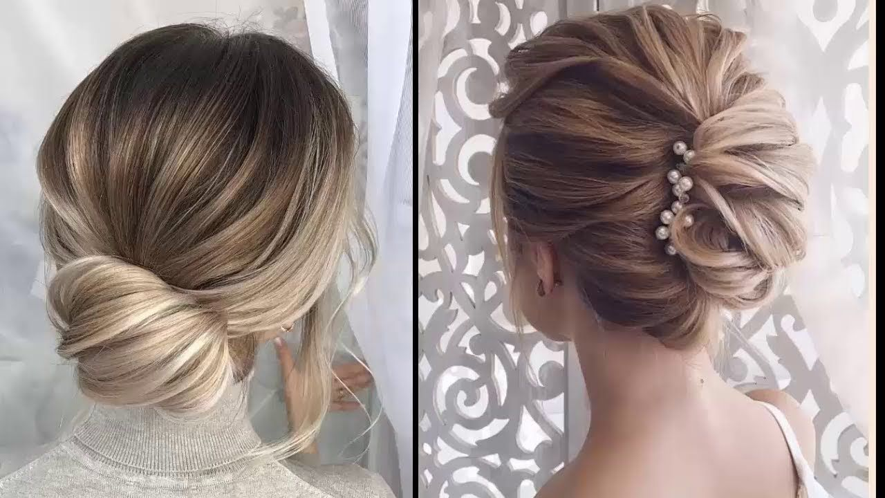 Easy Elegant Updos For Thin Hair - Easy Prom Hairstyles For Short