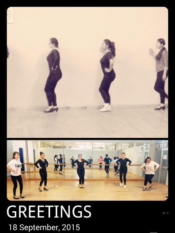 clase 5: Nos familiarisamos con los pasoso base para el baile con tema de revolucion
