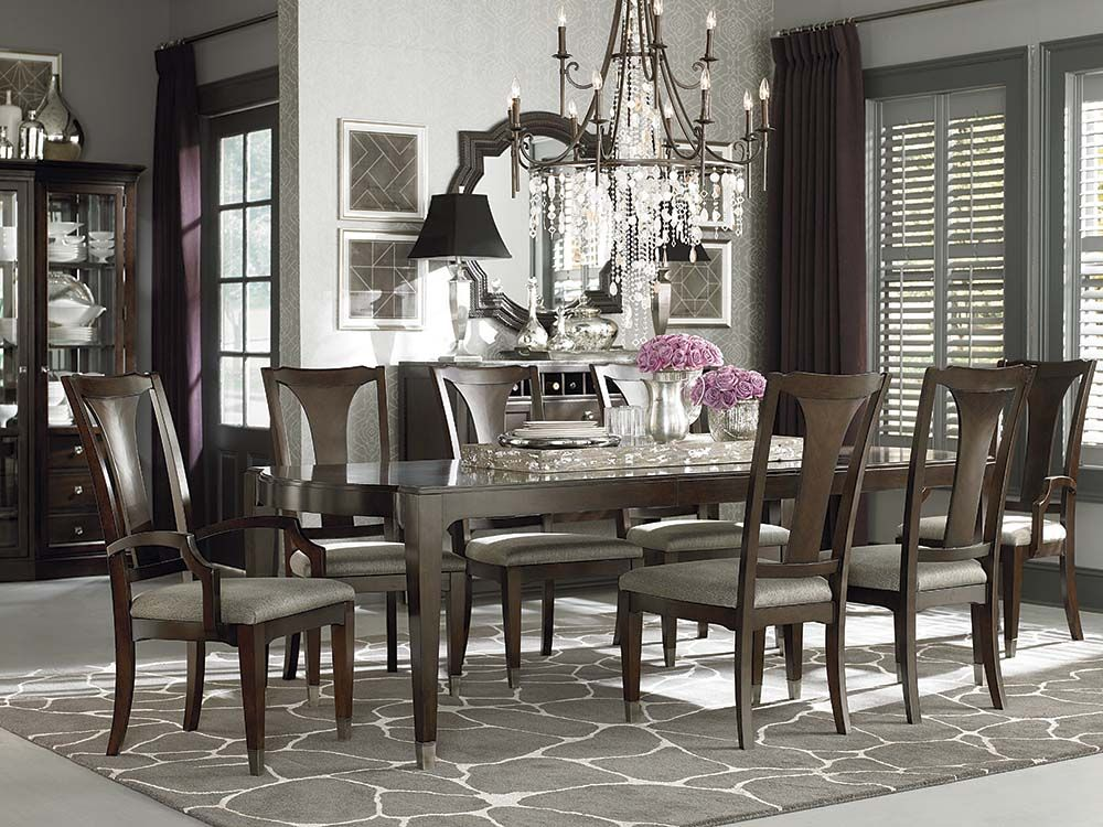 Rectangular Dining Table by Bassett Furniture Dining Tables