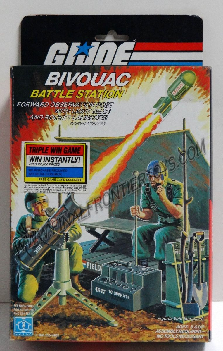 Final Frontier Toys Bivouac Battle Station Playsets MIB C