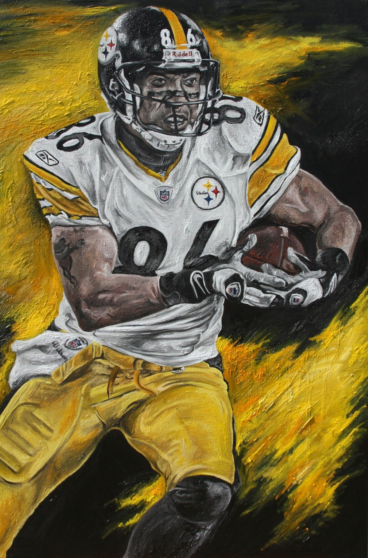 Pin By Marcus Grafton On Steelers Pictures Sports Art Art Game Art