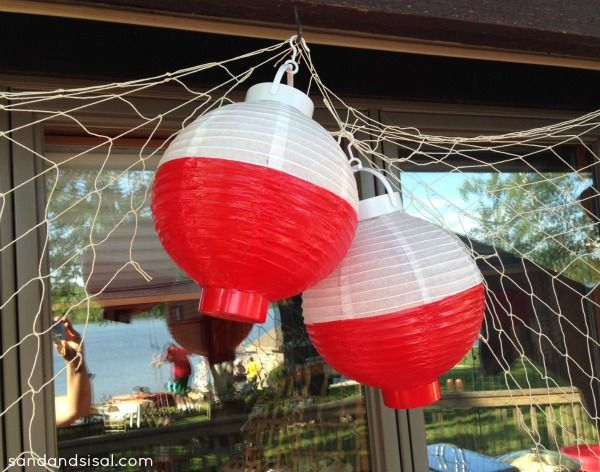 Best 25 fish party decorations ideas on pinterest for Fish decoration ideas