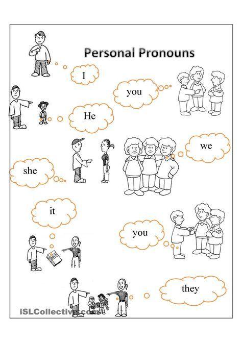 Personal Pronouns Free Esl Worksheets Personal Pronouns Personal Pronouns Worksheets Pronouns Worksheet For Kids Pronoun worksheets for 2nd graders