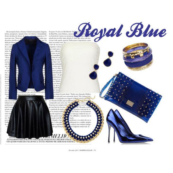 """Royal Blue"" by ceci-alva on Polyvore"
